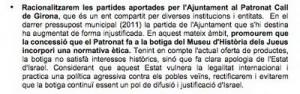 Aparte del Programa Electoral del CUP - Girona, Mayo 2011