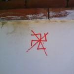 Pintada antisemita en Torremolinos 10-6-2010
