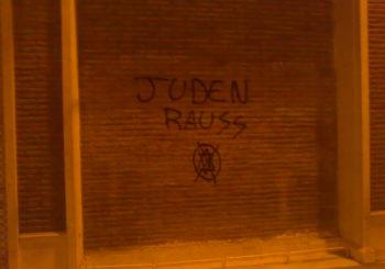 Pintada antisemita en Málaga - 21.6.2010