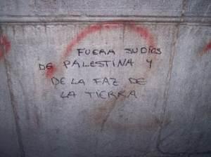 Pintada en la Universidad de Granada