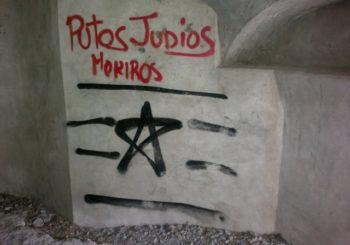 pintadas antisemitas Huesca1