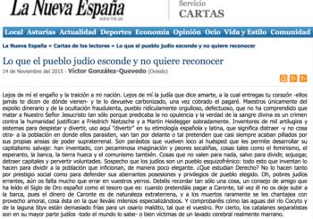 Carta La Nueva Espana