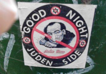 pegatina antisemita Madrid
